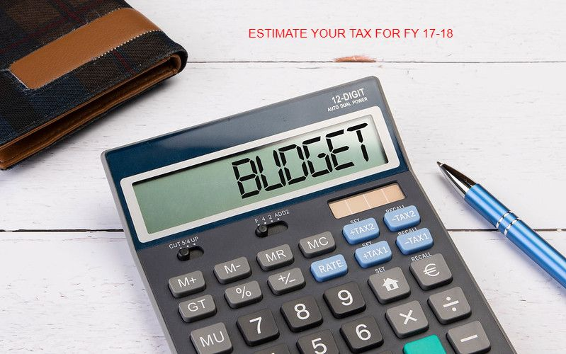 ESTIMATE INCOME TAX